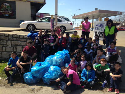Our Lady of Guadalupe School Southwest Blvd/Summit Clean Up Wednesday, April 9, 2014 115p-230p